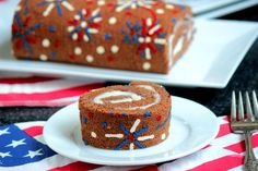 This patriotic dessert is exploding with excitement! Great for 4th of July or Memorial Day celebrations.