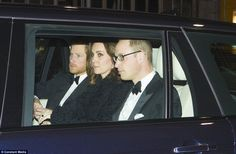 Princes William And Harry Join Kate For Queens Th Anniversary