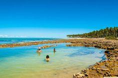 Piscinas Naturais da Praia dos Carneiros, em Pernambuco – Foto Ricardo Junior