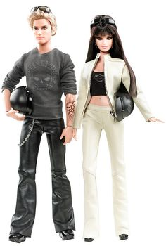 Harley-Davidson® Barbie® And Ken® Giftset - circa 2010 Its funny to me that the one thing that never went out of style all my life from childhood is barbie, and thats the only thing...lol