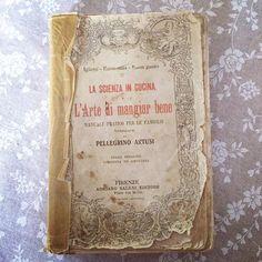 Una grandissima chicca che ci ha tirato fuori Nonna Renata durante le chiacchiere del pomeriggio: l'Artusi edizione 1914 - Instagram by bolognafood