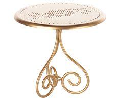 Cafe Table Gold, Mini