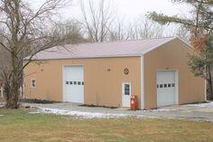 Diy Pole Barn, Pole Barn Garage, Pole Barns, Pole Buildings, Metal Barn, Building Code, Garage Plans, Shed, Outdoor Structures