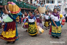 Celebration in Janitzio, Michoacán captured in photo by Florence Leyret - beautiful