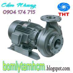 Đại lý phân phối máy bơm ly tâm: Máy bơm ly tâm đầu gang TECO 2 pole G30-25-2P-0.5H...