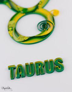 Taurus Horoscope Zodiac Star Sign Constellation by PapertalkVN