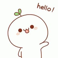 The perfect Hello Wave Cute Animated GIF for your conversation. Discover and Share the best GIFs on Tenor. Cartoon Gifs, Cute Cartoon Wallpapers, Kawaii Drawings, Cute Drawings, Cute Gif, Funny Cute, Calin Gif, Doodles Bonitos, Gif Lindos