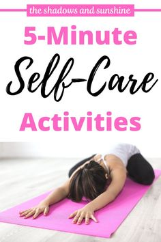 Are you a busy woman who feels she doesn't have time for self care? Think again! Here is a list of self-care ideas that will only take you 5 minutes! Money Machine, Mental Health Day, Self Care Activities, Attitude Of Gratitude, Meditation Practices, Mindfulness Quotes, Self Care Routine, Self Confidence, Best Self