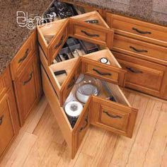 sweet corner drawers