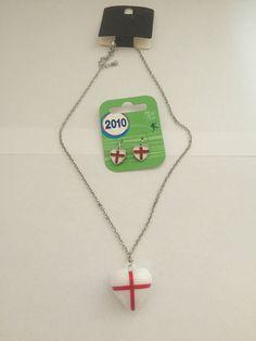 England Necklace& Earrings Set