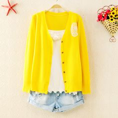 Cute Knitted Jacket for Women