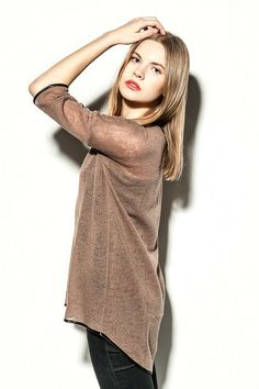 Wool Jersey Tunic  von SHE/S A RIOT auf DaWanda.com