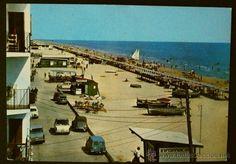 CALAFELL - 4 - Playa - Ed. Raymond - Postal Color años 60- Nueva Sin Circular (DIFICIL)