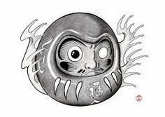 Image result for daruma tattoo