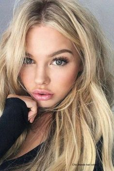Hair Goals Ombre Eyebrows For 2019 Blonde Hair With Highlights, Blonde Hair Blue Eyes, Blonde Balayage, Brunette Color, Blonde Color, Brunette Hair, Straight Brows, Make Up Gesicht, Shades Of Blonde