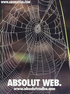 Absolut web Advertising History, Clever Advertising, Advertising Poster, Absolut Vodka, Creative Poster Design, Creative Posters, Marketing, Communication, Great Ads