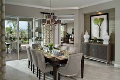 The timeless elegance of a Dining Room will never fade; neither will the memories made. Dining Set, Dining Table, Dining Rooms, Arthur Rutenberg Homes, White Vases, Home Pictures, Timeless Elegance, Model Homes, Great Rooms