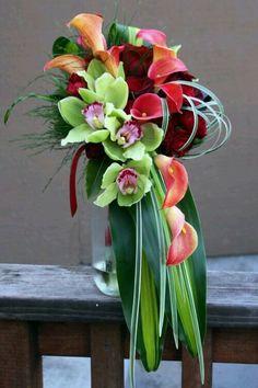 44 Ideas For Wedding Flowers Bouquet Orchids Pew Flowers, Church Flowers, Funeral Flowers, Bridal Flowers, Indoor Flowers, Flowers Garden, Yellow Flowers, Deco Floral, Arte Floral