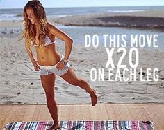 Malibooty Workout LOVE THIS!! It actually works. All you need to do is increase by 10 every 3 days .. You will really feel your ass the next day !!! AMAZING. Seriously you guys. Ow.