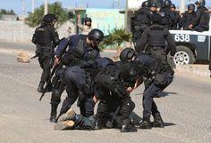Brutal represión contra jornaleros de San Quintín, durante protestas por burla y desprecio del gobierno