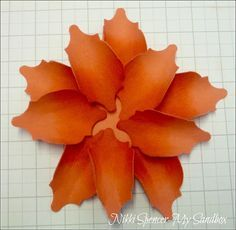 Stampin Up Mosaic Madness to Create Paper Flowers My Sandbox: Mosaic Madness Flowers........