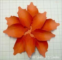 Stampin Up Mosaic Madness to Create Paper Flowers My Sandbox: Mosaic Madness Flowers........