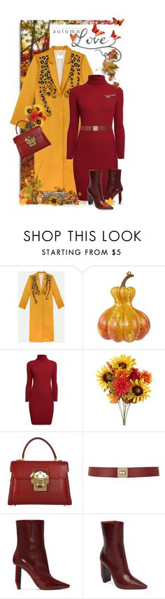 """Lovely Autumn Day"" by shortyluv718 ❤ liked on Polyvore featuring Rumour London, Dolce&Gabbana, Maison Boinet and Vetements"