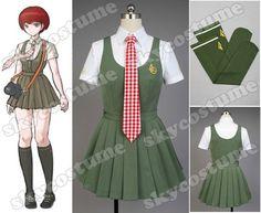 Danganronpa Dangan-Ronpa Mahiru Koizumi Dress Cosplay Costume - Skycostume