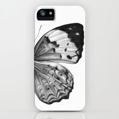 Butterfly iPhone Case by HermesGC - $35.00