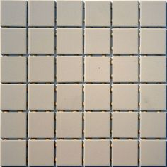2 inch Lyric Unglazed Porcelain Mosaic Tile - Beige Mosaic Tile Supplies, Coloured Grout, Porcelain Tile, Tile Design, Mosaic Tiles, Master Bathroom, Tile Floor, Lyrics, Beige
