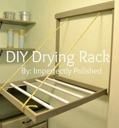 Great way to dry clothes.