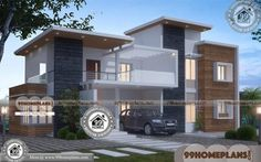 Indian Best Home Design Small 2 Storey Homes Plans Online Ideas Best Small House Designs, Best Modern House Design, House Front Design, Home Design Images, House Design Pictures, Home Design Plans, Free House Plans, Small House Plans, 1200 Sq Ft House