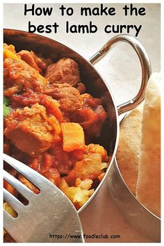 The tastiest lamb curry ever. It's packed with spices for great flavour and enough chilli to give it heat without too much of a bite. It's also loaded with veggies, which makes it an ideal one-pan meal. #foodleclub #lambcurry #curryfromscratch #homemade Lamb Recipes, Curry Recipes, Vegetarian Recipes, Cooking Recipes, Best Curry, Hottest Curry, South African Recipes, Indian Food Recipes, Ethnic Recipes