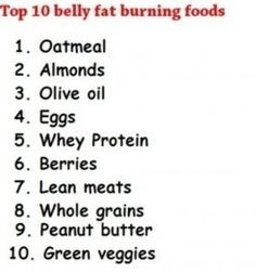 belly fat burning foods    #health-and-beauty-tips