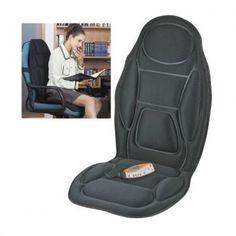 Couvre siège massant - Noir