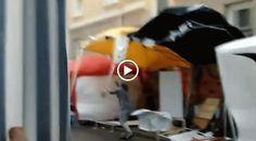 Rene Scheer:  Die #Altonale in #Ottensen war ein großer Erfolg. Viele spannende #Gespräche und tolle #Menschen kennen gelernt. Nur am Samstag-Abend kam dann das #Unwetter!  www.renescheer.de #hamburg #Altona #Kunst #art #artwork #germany #coffee #cafe #secondhand #stencil #stencilart #renescheer #clothes #shop #shopping