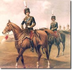 Crown Prince Wilhelm of Prussia as colonel of the British 11th Hussars