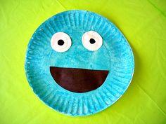 Cute Cookie Monster Craft via @Kiboomu    great for /k/ phoneme