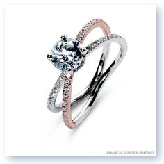 Distinctive Diamond ring designs. Balos Engagement Ring by Mark Silverstein Imagines