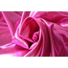 satin lame fushia etissue