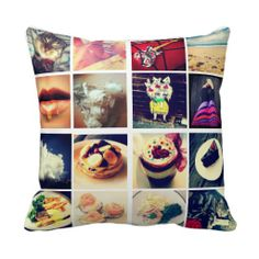 Create Your Own Instagram Pillows. get it on : http://www.zazzle.com/create_your_own_instagram_pillows-189505964064265738?rf=238054403704815742&tc=lucky