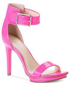 Calvin Klein Women's Shoes, Vivianne High Heel Evening Sandals - Calvin Klein - Shoes - Macy's