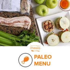 Eat better than your ancestors with our Paleo August 2016 menu! It's real food, full of flavor in its natural state!
