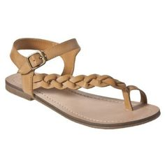 4afb7dd372c1df Wauna Braided Flat Sandals - Tan Flat Sandals