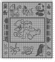 Ravelry: Babydecke 2 - Babyblanket 2 free pattern by Tina13