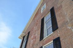 I love the imperfections in this building #downtownwilmingtonnc {photo credit: Shannon Lee}