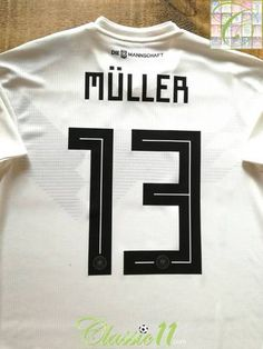 d33648530c0 2018/19 Germany Home Player Issue Football Shirt Müller #13 (M) *BNWT