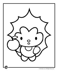 49 Best Super Cute Animal Coloring Pages Images Animal