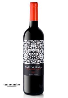 CARLOS PLAZA 2012 - TANINOTANINO VINOS INTELIGENTES - VINOS MAXIMUM Photo by #winebrandingdesign