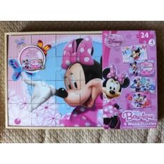 Minnie Mouse is back on the scene with this set of four wooden puzzles.  So cute and your little girl will enjoy making the puzzles and playing with the pieces.    Bowtique Wood Puzzle, 4 Pack Box is sold by Dave and Kathy on Amazon.  This means you get Amazon's great customer service with free shipping available and easy returns.